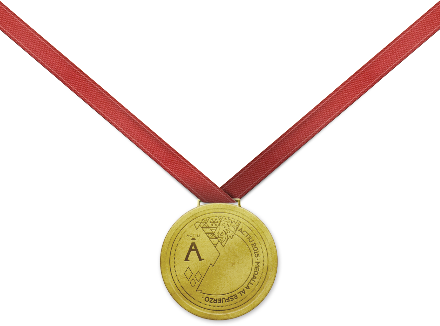 Medalla Actiu al esfuerzo