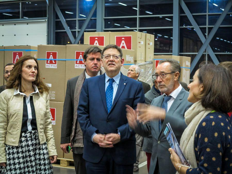 Actiu hosts a meeting between a hundred entrepreneurs and president of the Valencian government 5