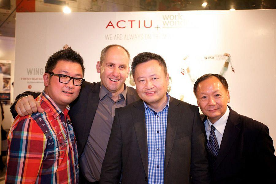 Actiu supports the Spanish architecture in China 1