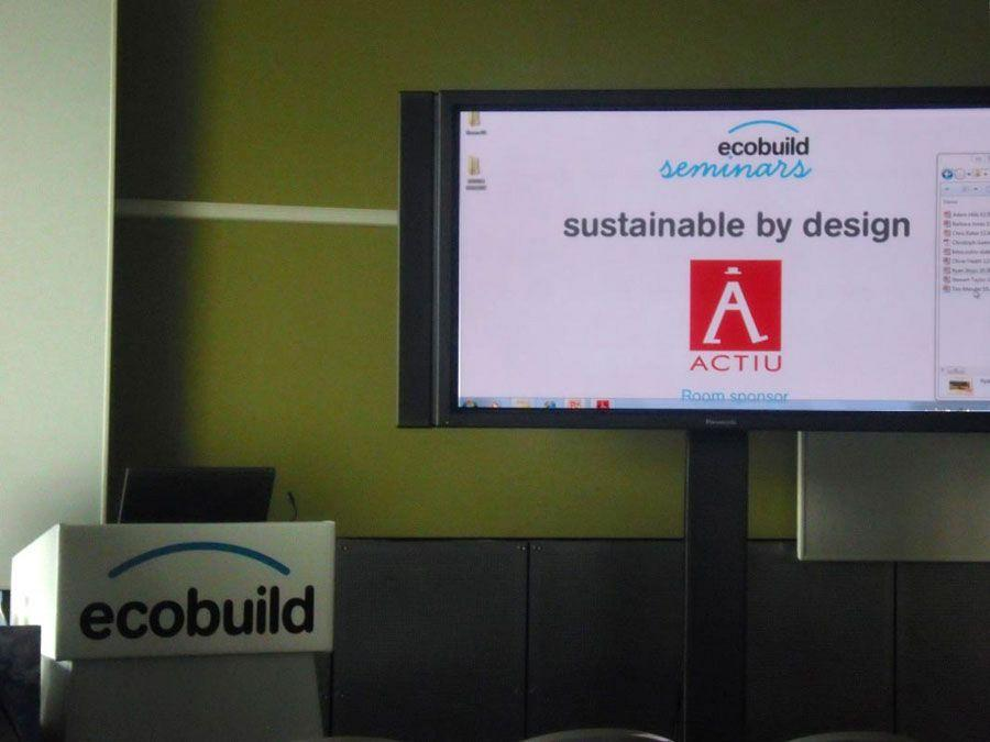 Actiu in the Ecobuild trade fair 9