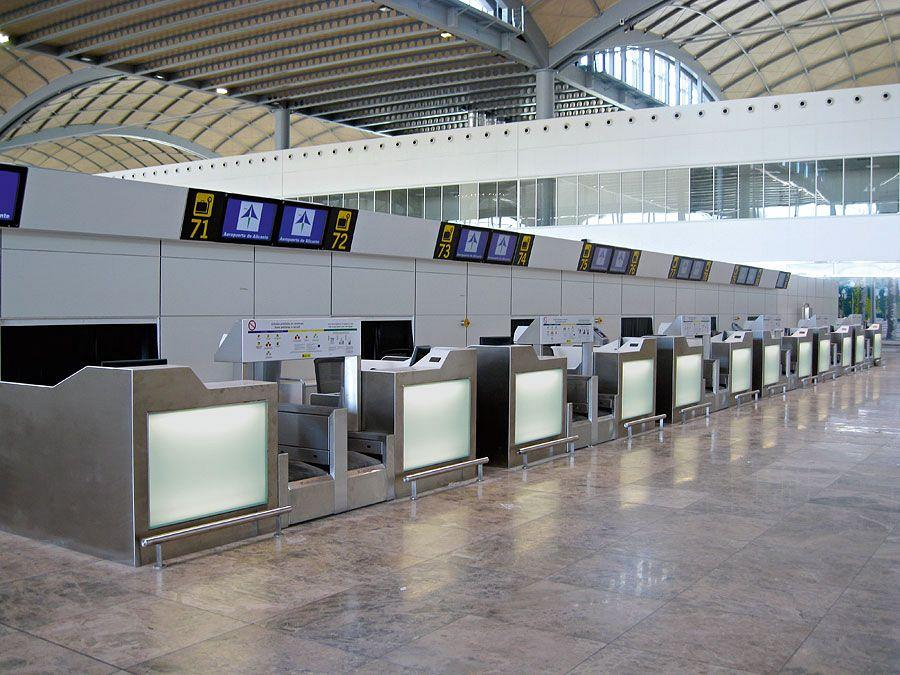 Actiu furnishes the new airport in Alicante 3