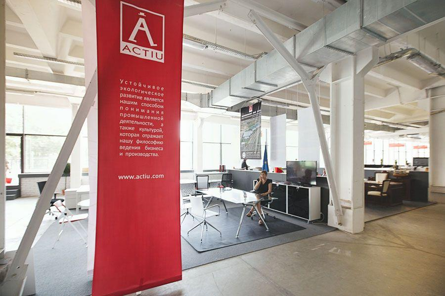 Actiu begins its expansion into the Russian market with its participation at OFFICE NEXT Moscow 5