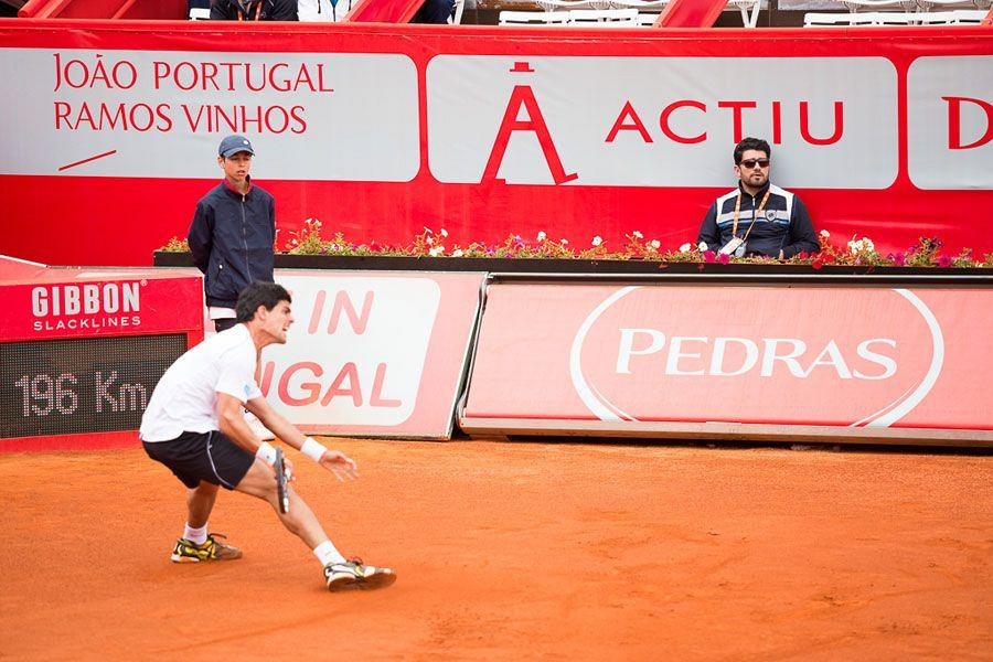 Actiu dresses the Estoril Open Tennis in Portugal 1