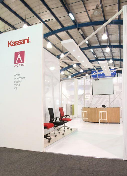 Actiu and the firm Kassani exhibit at the most important Construction trade fair in Columbia 6