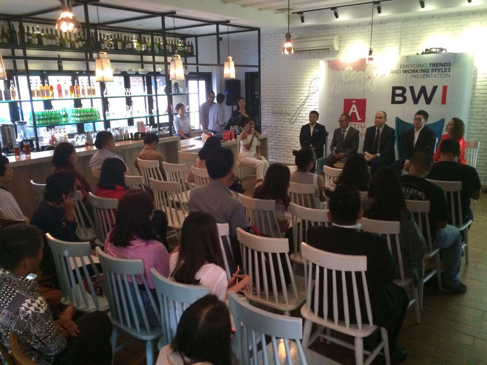 In a multitudinous event, BWI introduces the brand Actiu to the Indonesian market 1