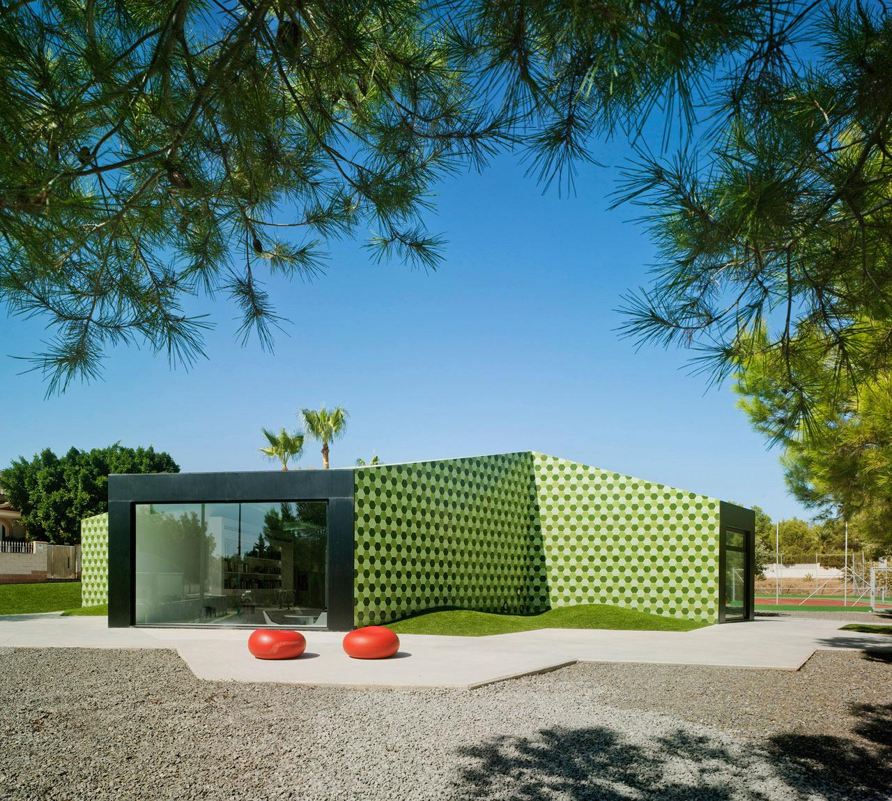 Crystalzoo, awarded the Architizer A+Awards for 'The Administrative Extension in La Nucia' 2