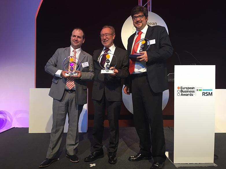 Marine Instruments, Actiu y Leroy Merlin España, ganadores en los European Business Awards