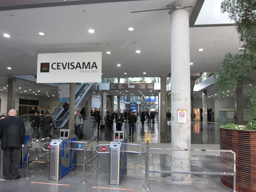 The Official College of Architects and Actiu, together at Cevisama 2012 2