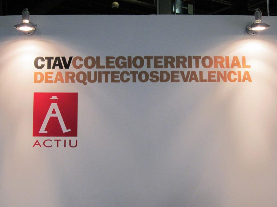 The Official College of Architects and Actiu, together at Cevisama 2012 5