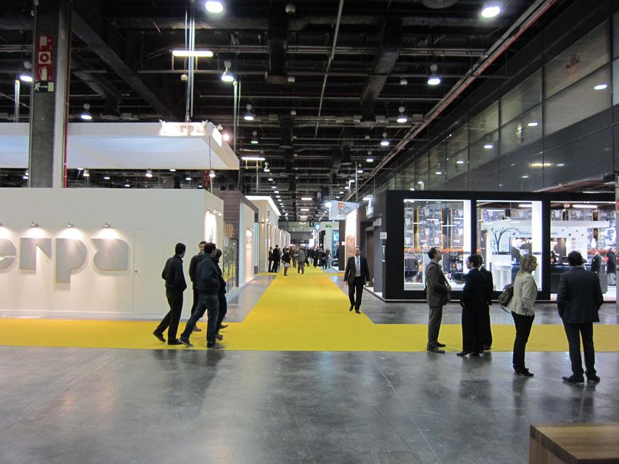 The Official College of Architects and Actiu, together at Cevisama 2012 7