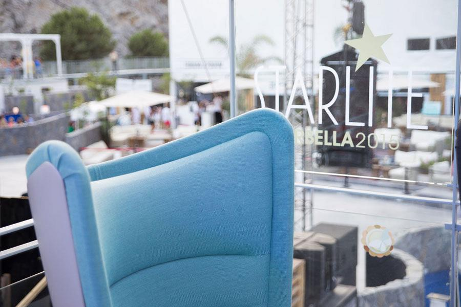 The most avant-garde product accompanies Actiu to the International stars of the Starlite Festival in Marbella 2