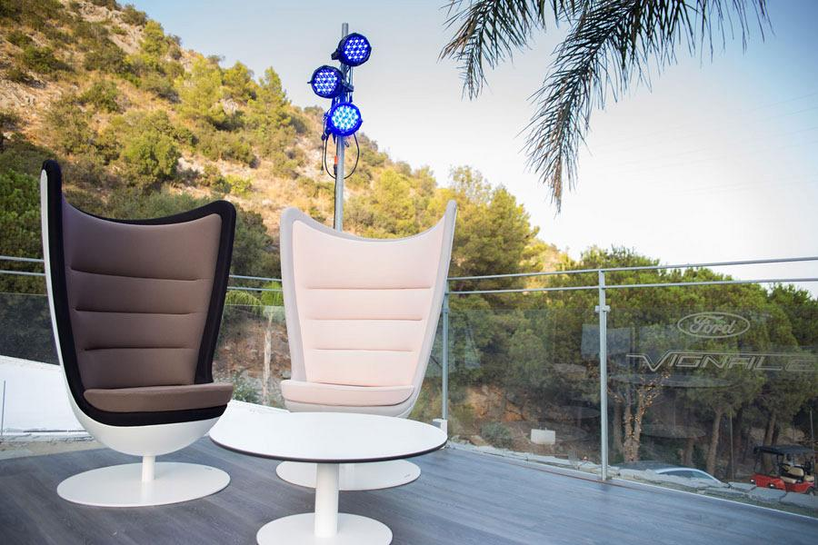 The most avant-garde product accompanies Actiu to the International stars of the Starlite Festival in Marbella 3
