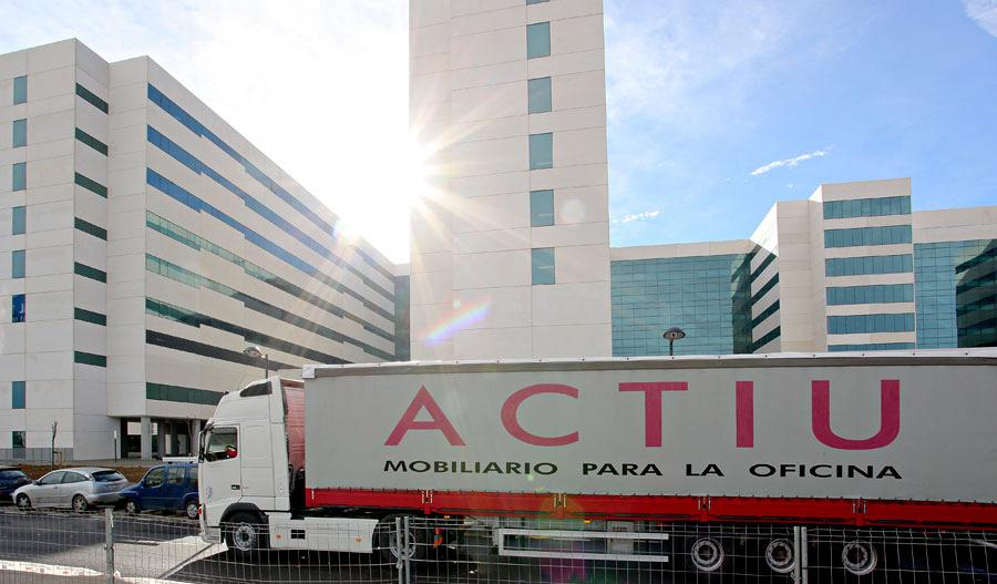 Actiu, set in the new Teaching Hospital La Fe 1
