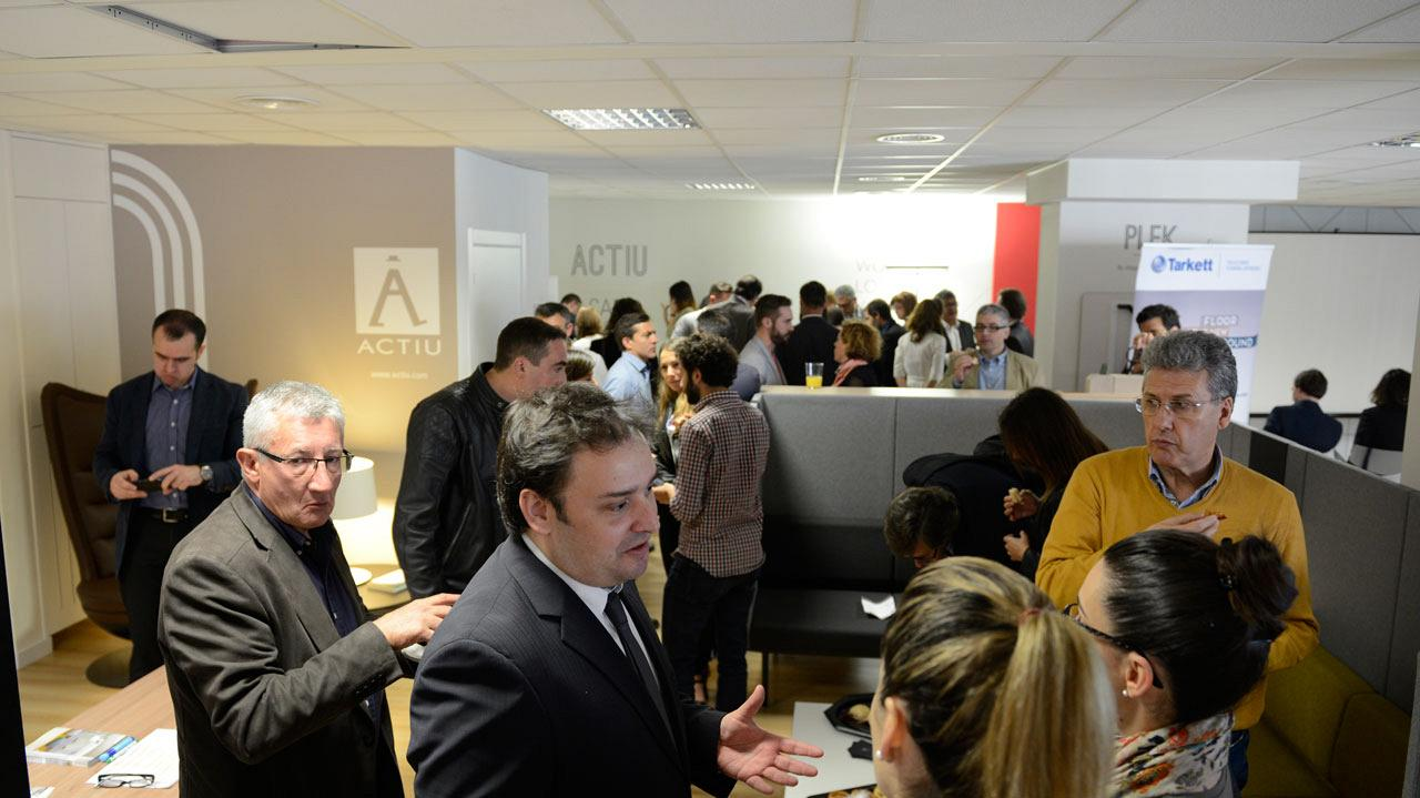 Actiu showroom in Barcelona, headquarters of the conference on Workplace Strategy: Facility Management 11