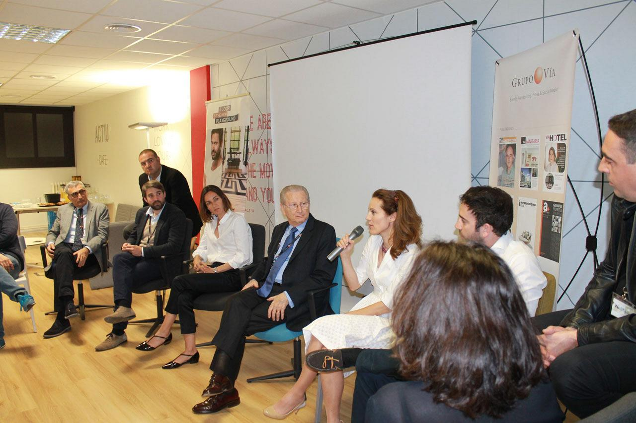 Le showroom d'Actiu de Barcelone a accueilli le 1er forum sur le Workplace Strategy : Facility Management 9