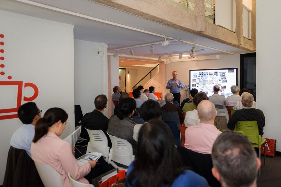 Sydney Showroom hosts an exclusive seminar on Audiovisual technology applied in the work environment 1