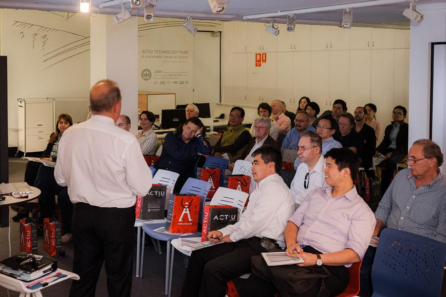 Sydney Showroom hosts an exclusive seminar on Audiovisual technology applied in the work environment 3