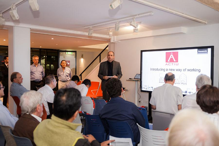 Sydney Showroom hosts an exclusive seminar on Audiovisual technology applied in the work environment 4