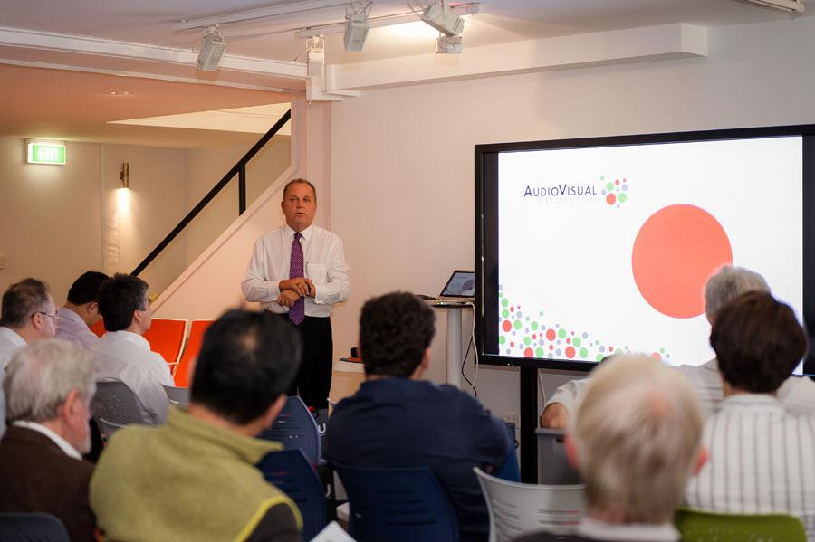 Sydney Showroom hosts an exclusive seminar on Audiovisual technology applied in the work environment 5