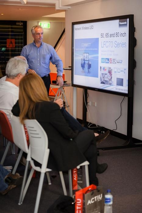 Sydney Showroom hosts an exclusive seminar on Audiovisual technology applied in the work environment 8