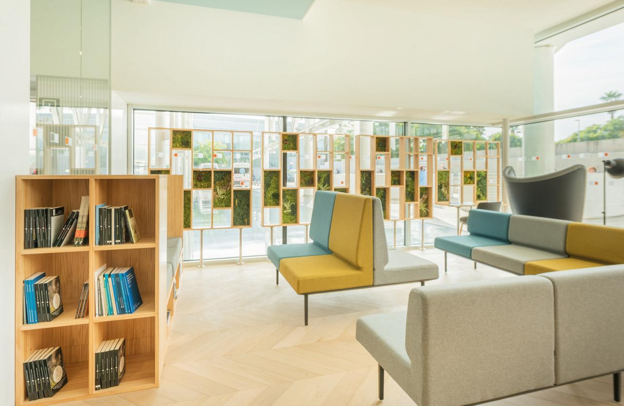Therapeutic spaces, when the design of the hospital environment acts as a third caregiver 4