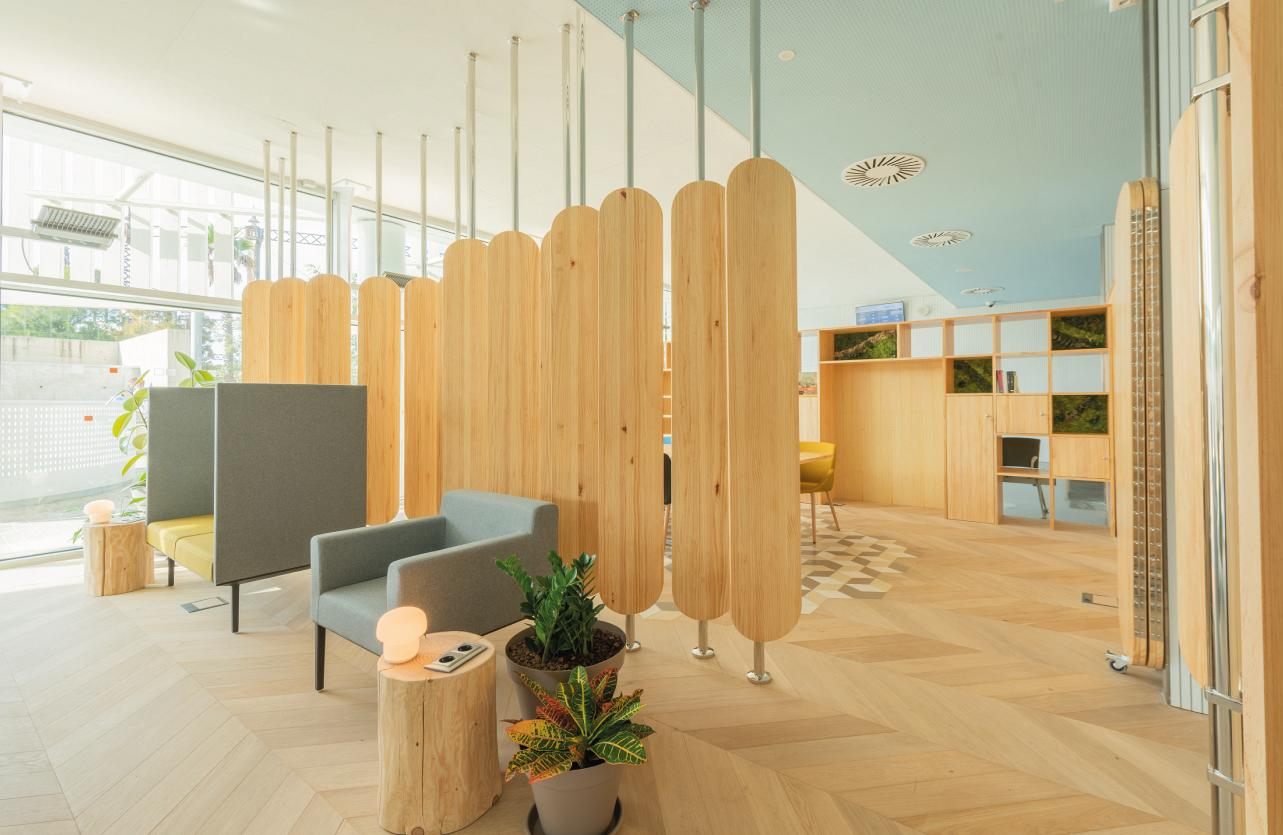 Therapeutic spaces, when the design of the hospital environment acts as a third caregiver 5