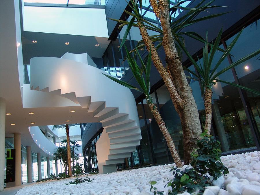 Actiu Technology Park staircases, a differentiating architectural element 3