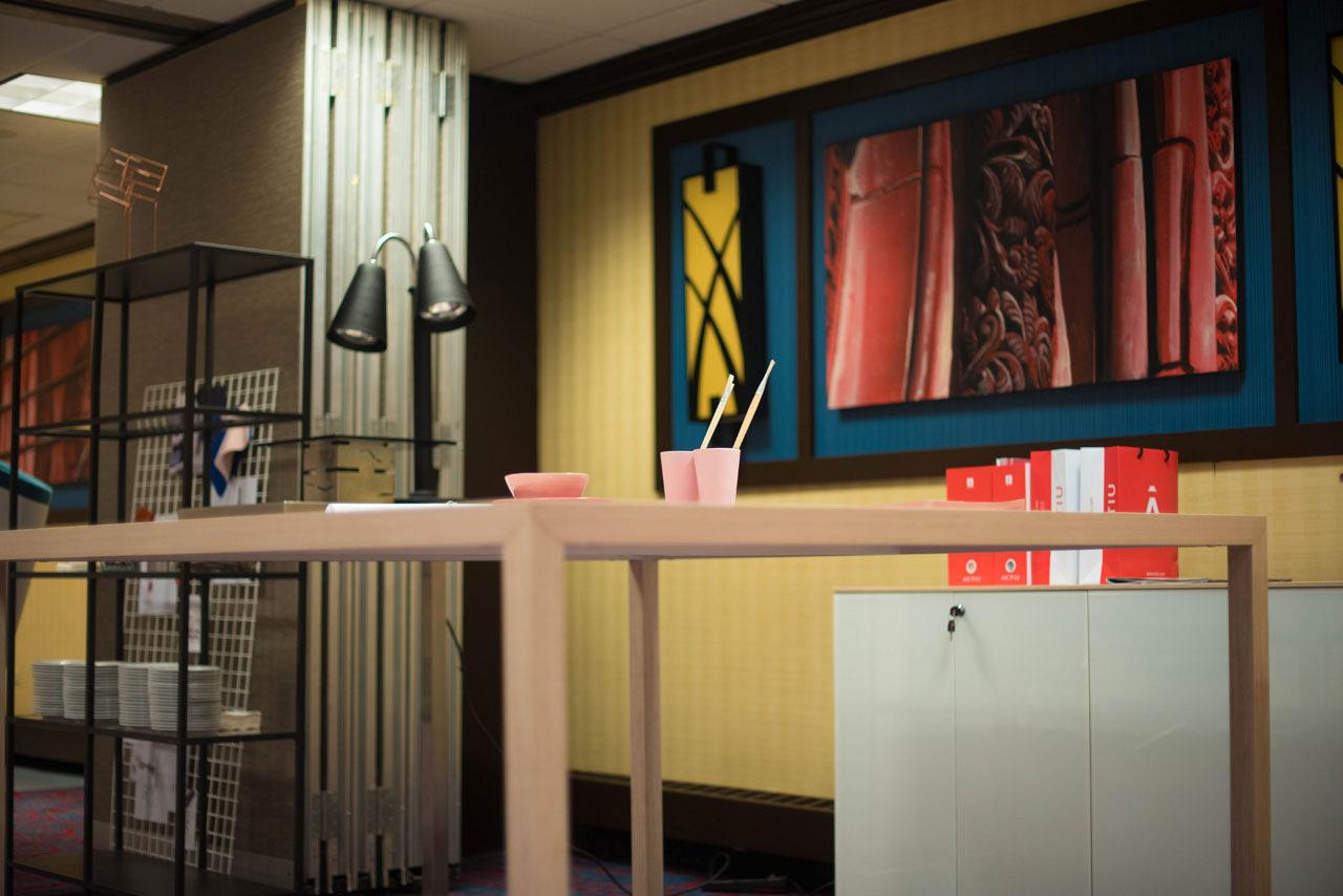 Longo range awarded best furniture for waiting rooms by NeoCon at their trade fair in Chicago 1