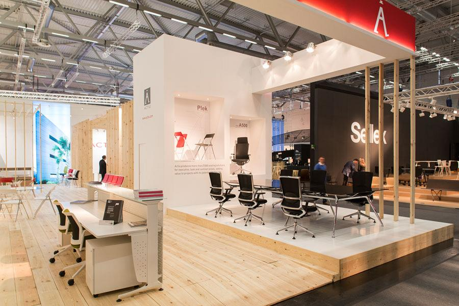 Actiu suggests some new solutions at Orgatec 2012 which promote teamwork 2