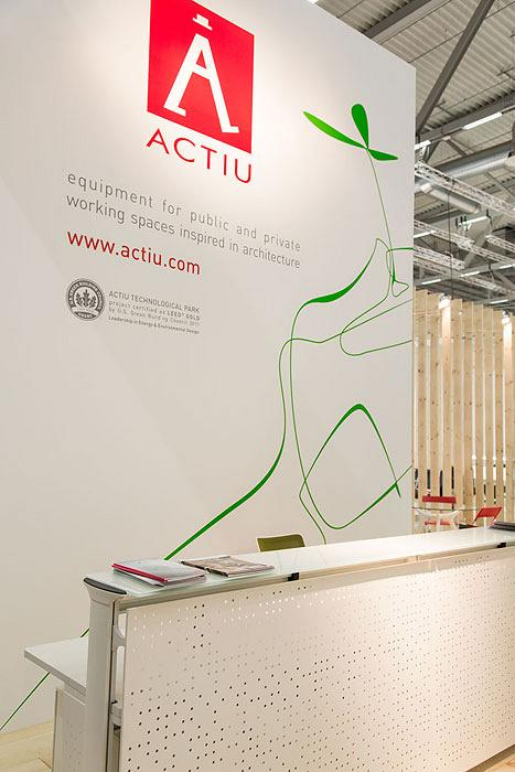 Actiu suggests some new solutions at Orgatec 2012 which promote teamwork 4