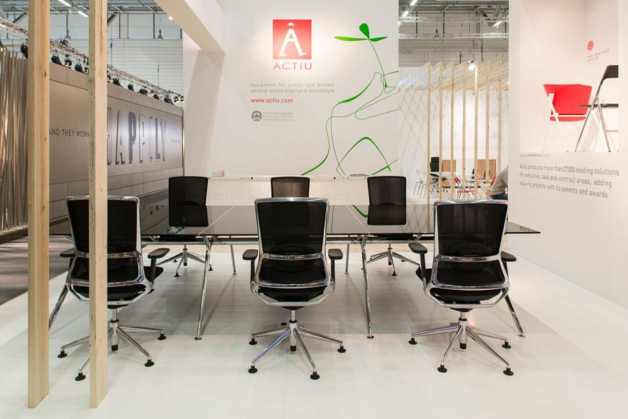 Actiu suggests some new solutions at Orgatec 2012 which promote teamwork 5