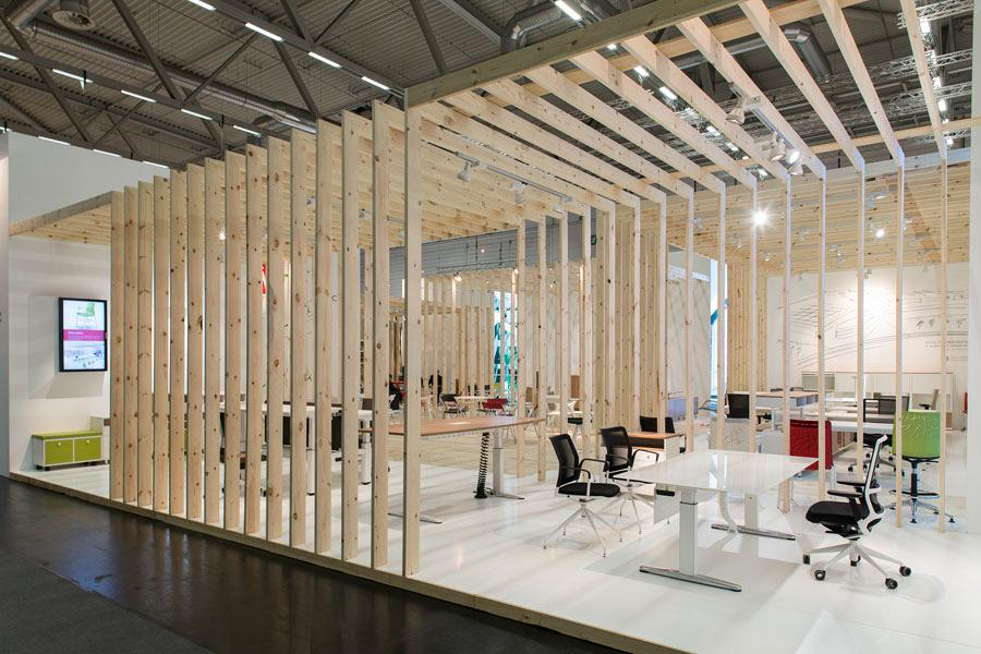 Actiu suggests some new solutions at Orgatec 2012 which promote teamwork 6