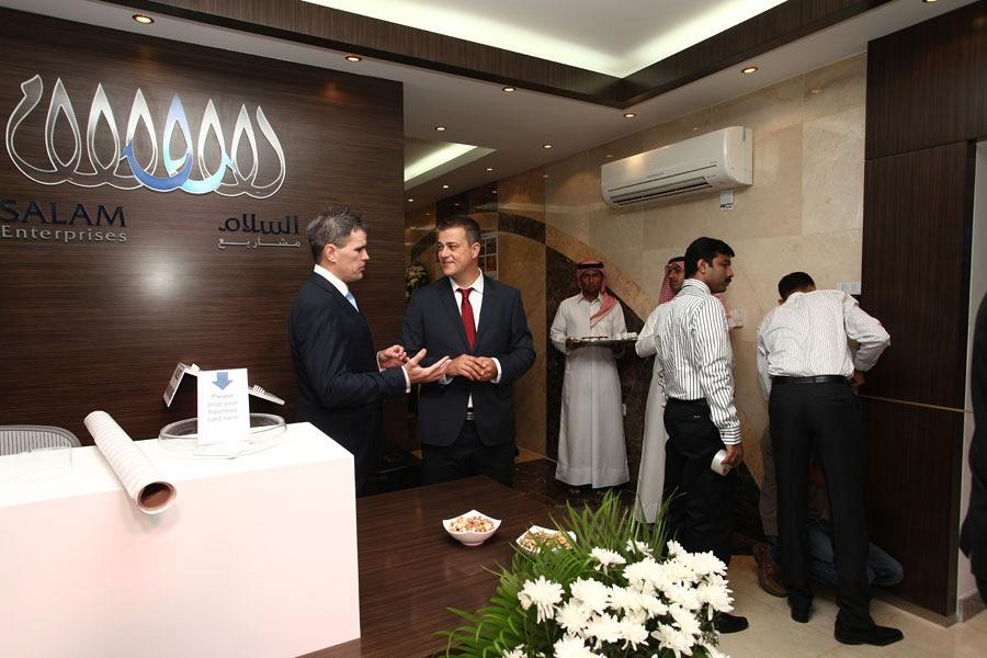 Salam and Actiu strengthen their relations in the Middle East 9