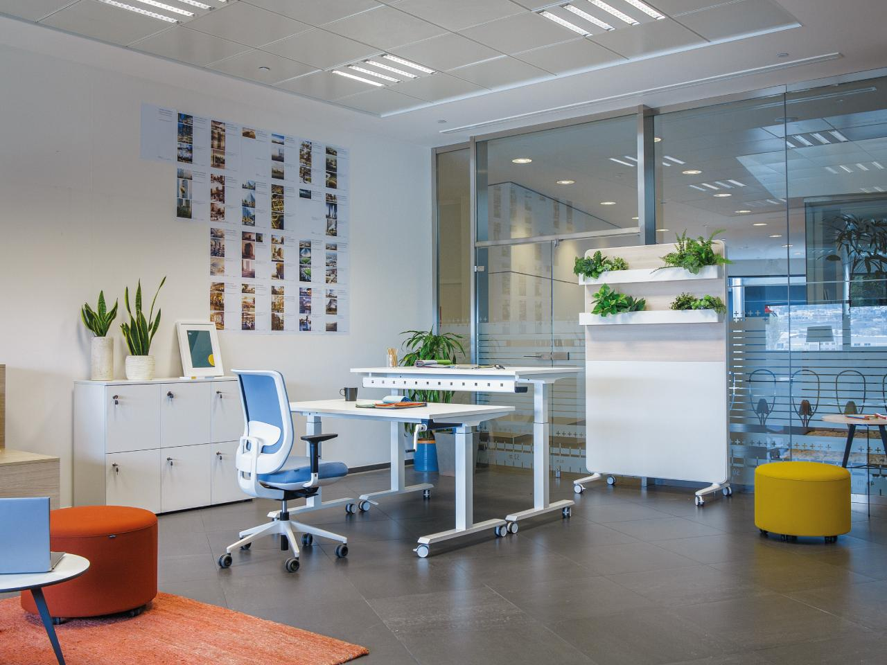AGILE Solutions for Designing Workspaces 1