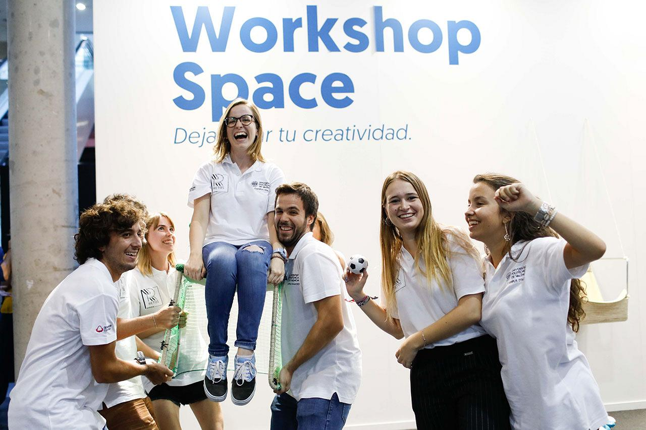 Actiu Workshop: Young talent open up new horizons for the Whass chair 8