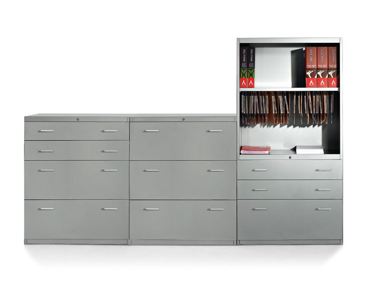 With Filing Drawers