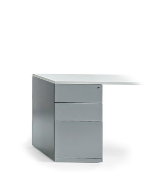 DESK HEIGHT PEDESTALS